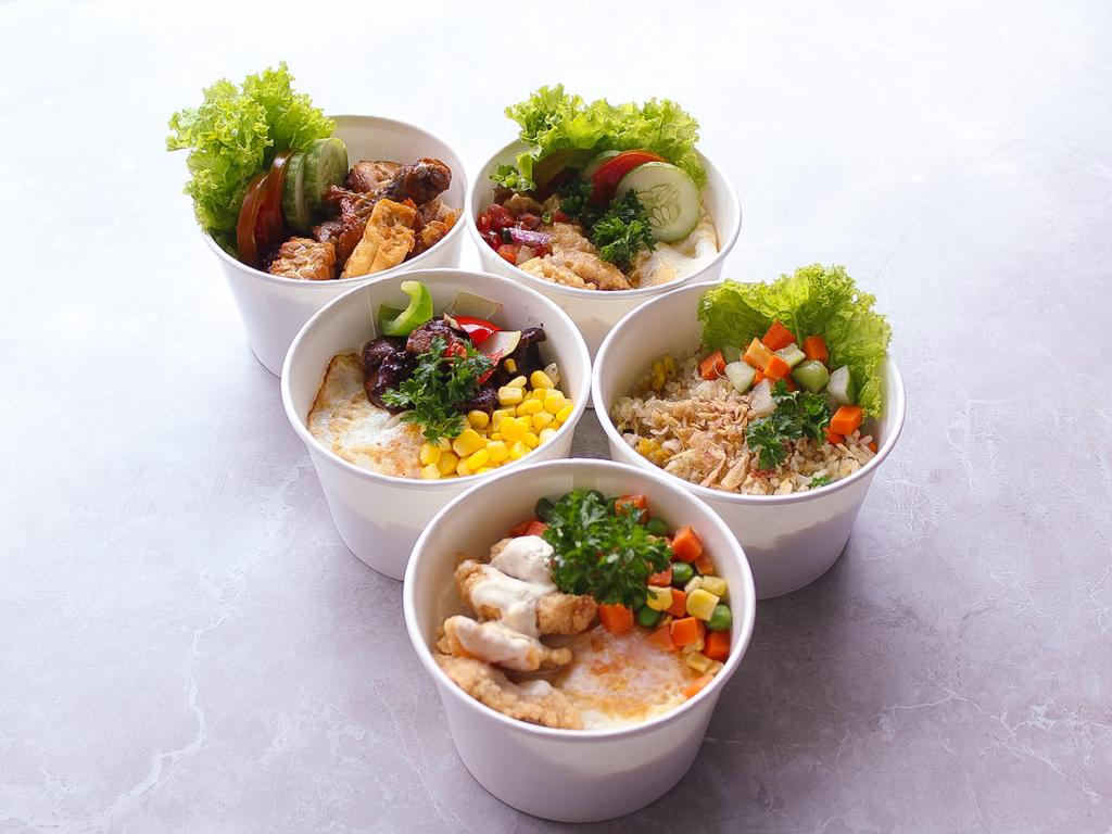 Rice Bowl To Go